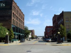 Fourth Street Downtown Sioux City