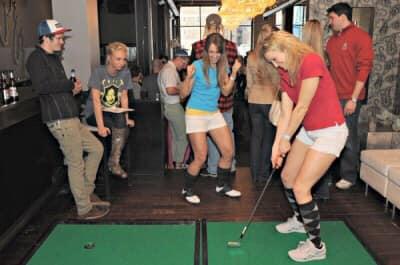 RiverCade Budweiser 12th Barstool Open Mini Golf Pub Crawl