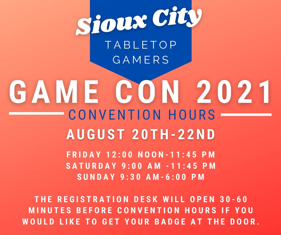 Sioux City Game Convention